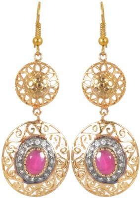 AGRIM Stone Dangle Zircon Earring Brass Dangle Earring