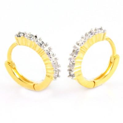 SuperShine jewelry Brass Huggie Earring