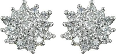 Zaveri Pearls Unique Brass Stud Earring