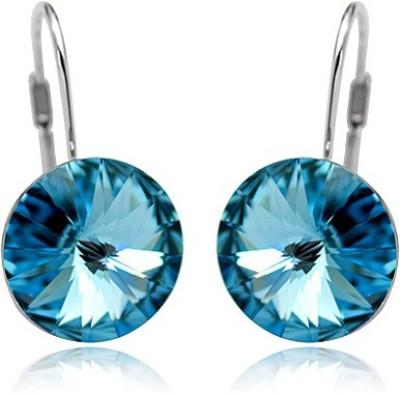 AR Italian Crystal Princess Crystal Alloy Drop Earring