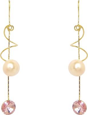 Chandrika Pearls Beautiful Copper Drop Earring