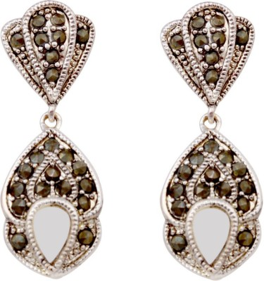 Sparkling Drop Celeistial Cubic Zirconia Stainless Steel Drop Earring