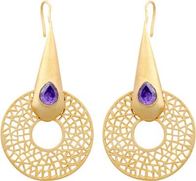 E-Designs ERG49GP1133-896 Cubic Zirconia Alloy Dangle Earring
