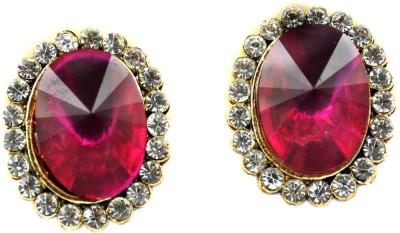 My Sara Earrings For Girls Fancy Cubic Zirconia Copper, Brass Stud Earring