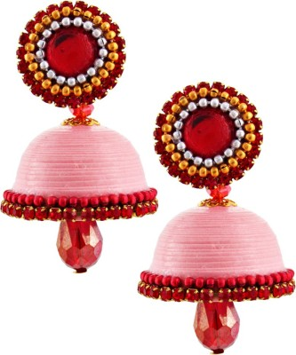 Halowishes EAR156 Paper Jhumki Earring