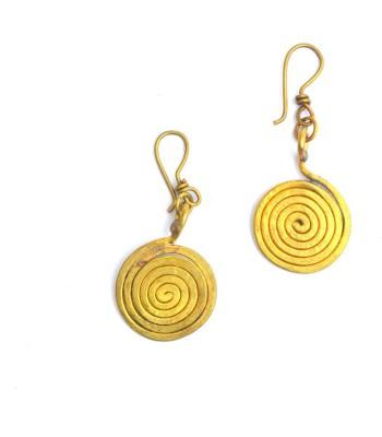 Art Godaam Dhokra Tribal 0005 Brass Dangle Earring