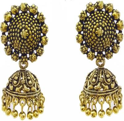 Gurjari COPZUMK Brass Jhumki Earring