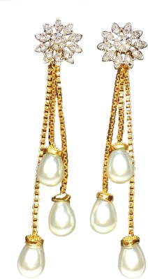 AVSM Creations PEARL HANGING Alloy Drop Earring