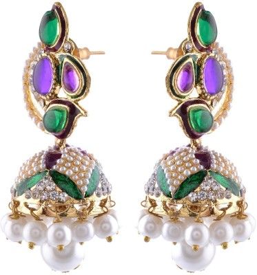 Junaldoindia Antique Alloy, Metal Jhumki Earring