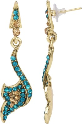 Maisha Maisha's Unique Sky Blue Drop Earring Alloy Drop Earring
