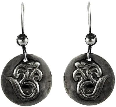 Miska Silver Antique Sterling Silver Dangle Earring