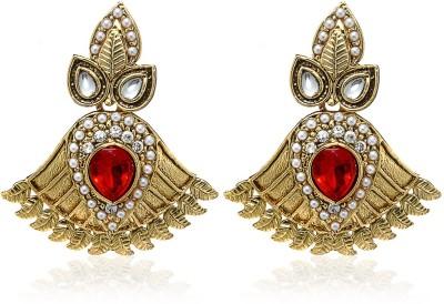 Arum Golden Alloy Huggie Earring