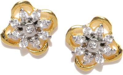 Zaveri Pearls Flawless Brass Stud Earring