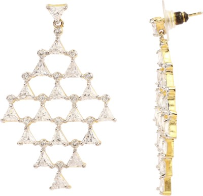 Maisha Beauty & Elegant Crystal Chandelier Earring