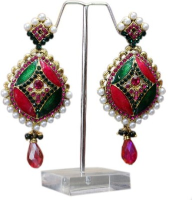 Aza Collections Beautiful Alloy Drop Earring