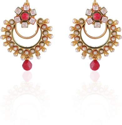 AccessHer Diamond Fusion Brass Drop Earring