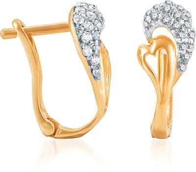 Karatcraft Urmila Gold Clip-on Earring