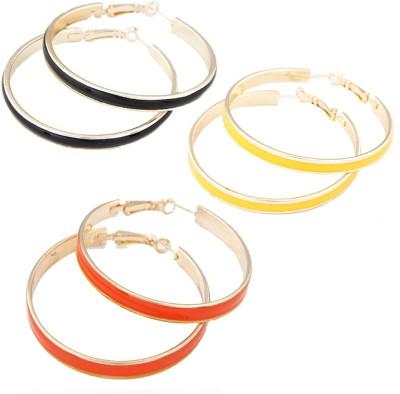 Aaishwarya Shimmery Combo Alloy Earring Set