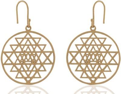 ZeroKaata Holostar Brass Dangle Earring