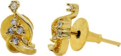 Silvesto India PG-713 Cubic Zirconia Stone Stud Earring