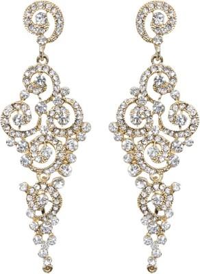 Mitthi Jewels Party Wear Alloy Chandelier Earring