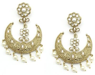 Poetry Accessories Princess Delight Pearl Zinc Jhumki Earring