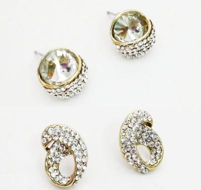 NEHASTORE Combo Offer CB16 Mother of Pearl Alloy Earring Set