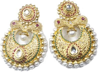 Navisha Trending Rajwada Alloy Chandbali Earring