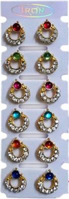 A To Z Sales AZ954G Metal Earring Set