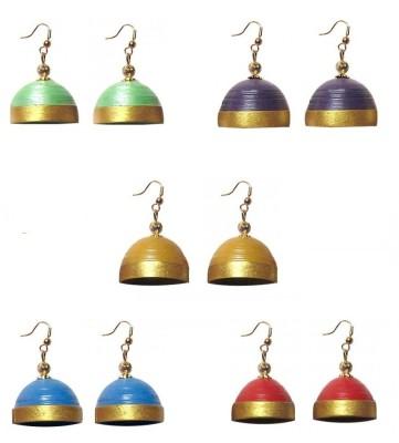 Jyotis Creations Combo Paper Earring Set
