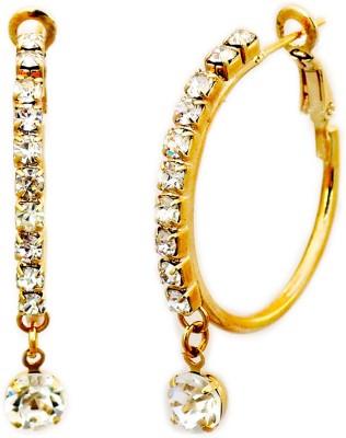 Aura Collection fk1 Alloy Hoop Earring