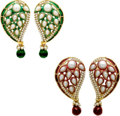 Donna Glowing Crystal Alloy Earring Set