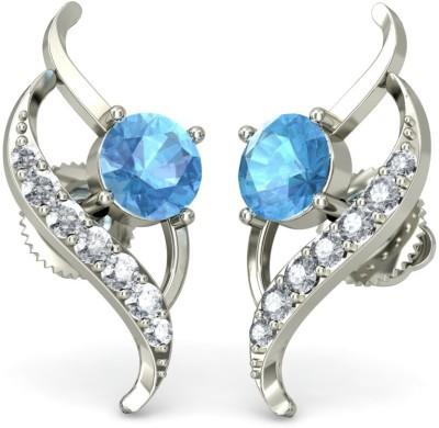 Joyra Sublime Swarovski Zirconia Sterling Silver Drop Earring