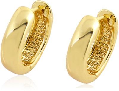 Magic Stones VIVID Brass Hoop Earring