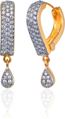 Fashion Fusion ES013001A Aatirah Cubic Zirconia Brass, Alloy Drop Earring