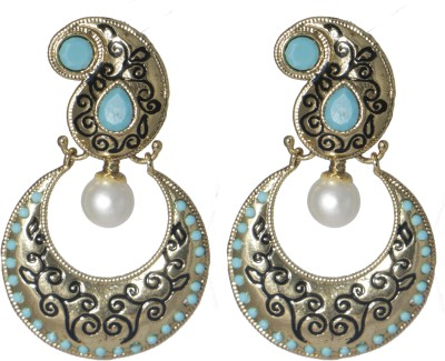 LE Indo-Western Alloy Chandbali Earring