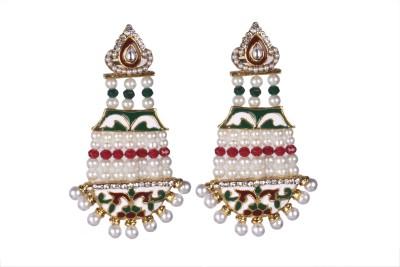 Tatva Anarkali Hangings Alloy Chandelier Earring