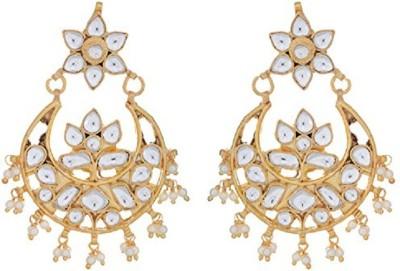 NK Jewels Brass Chandbali Earring