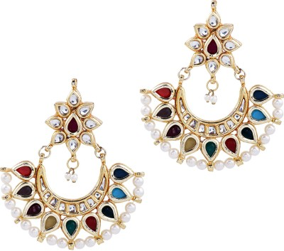 Design Studio 2 Everyones Charm Alloy Chandbali Earring