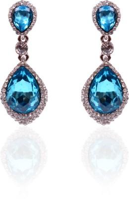 Trendy Baubles Crystal Metal Drop Earring