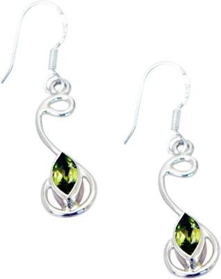 Riyo Wonderfulstar Peridot Peridot Sterling Silver Dangle Earring