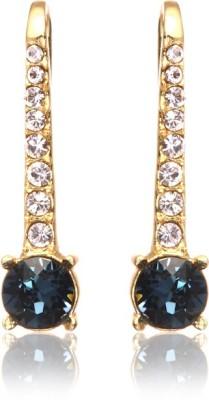 Eclat 613060GM Swarovski Crystal Alloy, Brass Drop Earring