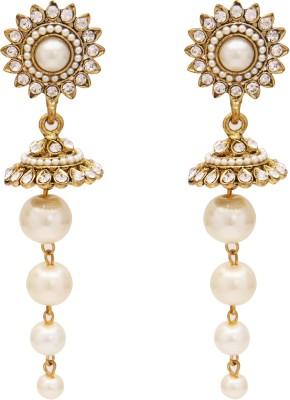 SB Fashions Gold plated jhumki Brass Jhumki Earring