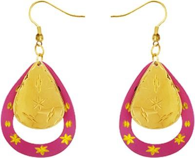 Kenway Retail Salubrious Fortune Brass Dangle Earring