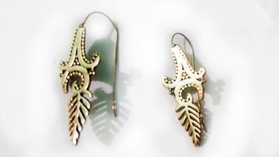 zenith jewels princess84 Brass Stud Earring