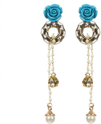 Envy Colorful Pearl Acrylic Drop Earring