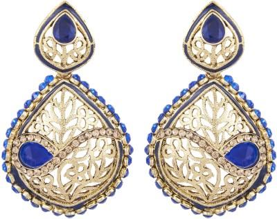 Shining Jewel Elegant Beauty Crystal Alloy Chandelier Earring