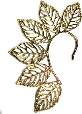 Gurjari Leaf Brass Cuff Earring