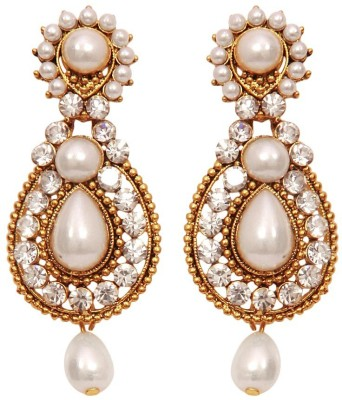 11Girls Spring sparkle Alloy Drop Earring