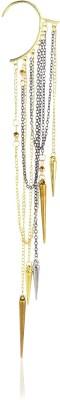Moedbuille Gorgeous Golden Alloy Cuff Earring